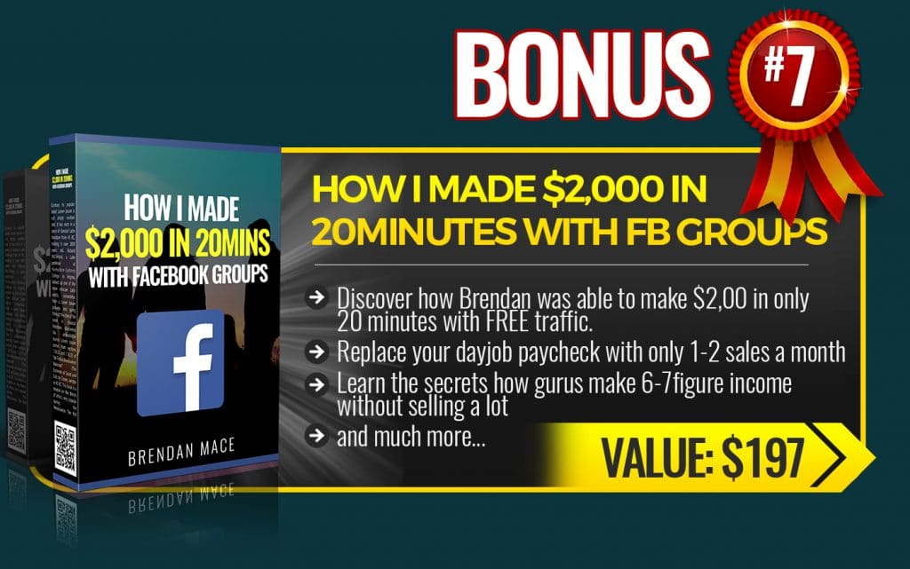 How I Made 2000 in 20 Min. w Facebook Groups