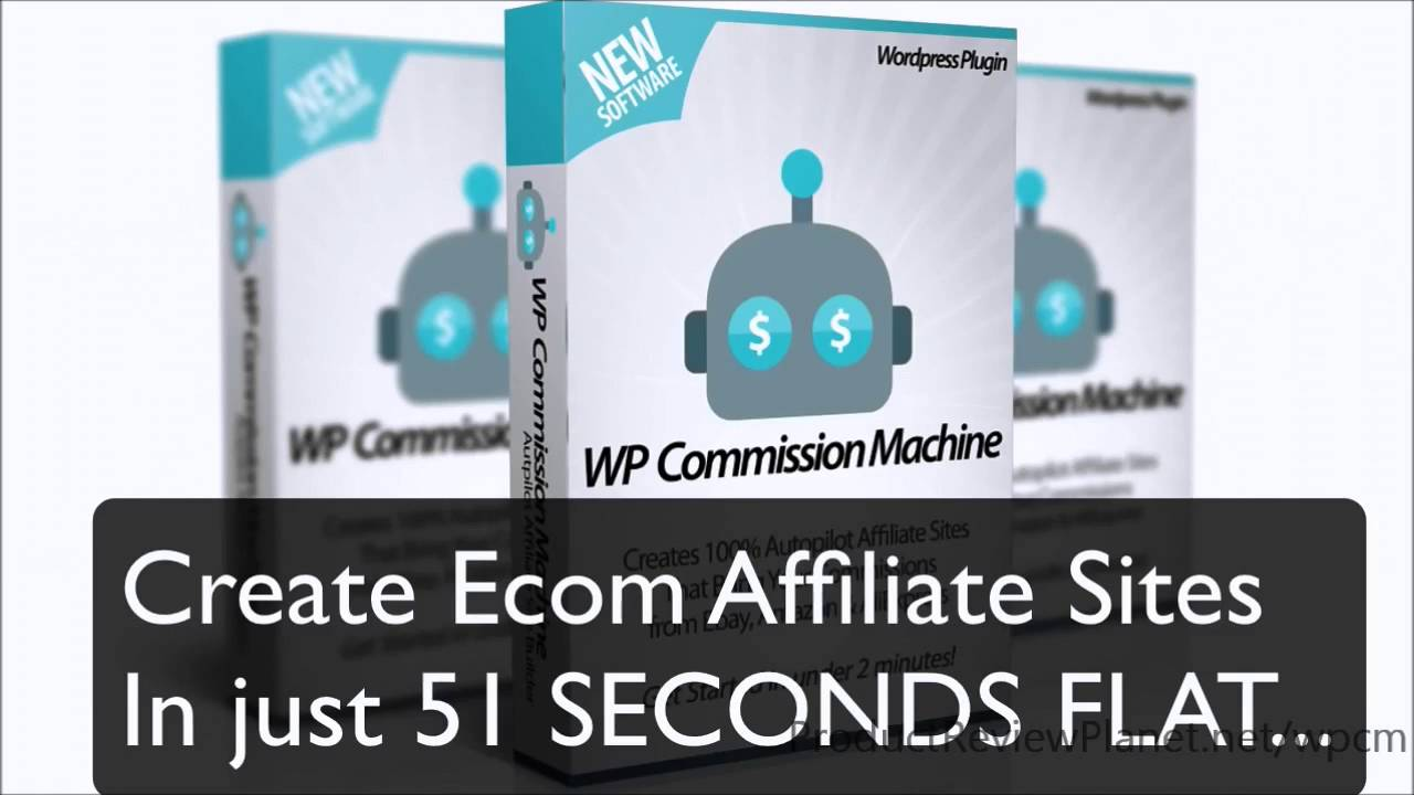 WP Commission Machine Review – Passive Income from AliExpress, Ebay & Amazon 3