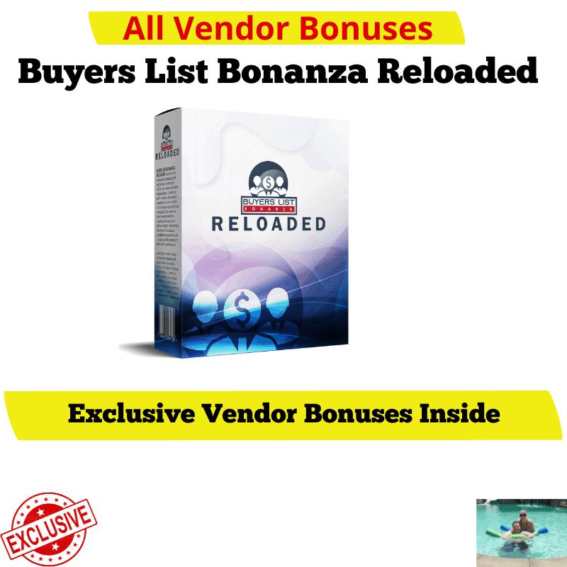 Buyers List Bonanza Vendor Bonuses